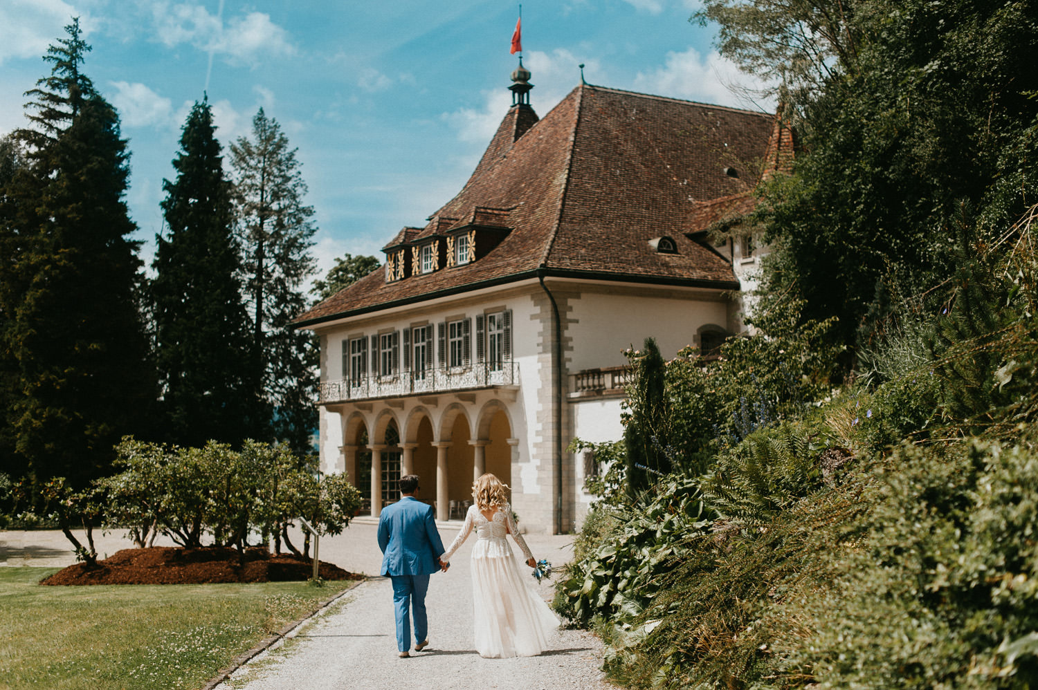 Wedding in Seerose Villa Switzerland